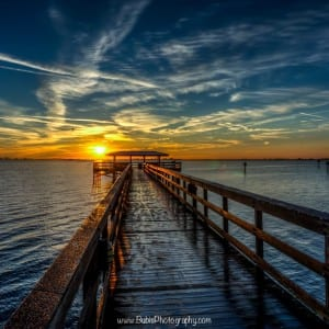 Safety Harbor, Florida Sunrise by Dmitry Bubis