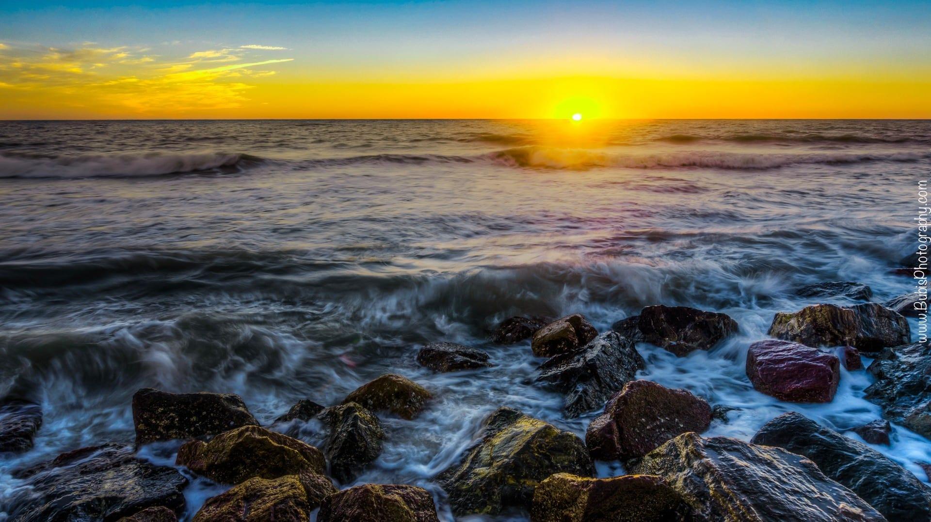 """""""Jetty Sunset"""" Honeymoon Island State Park"""